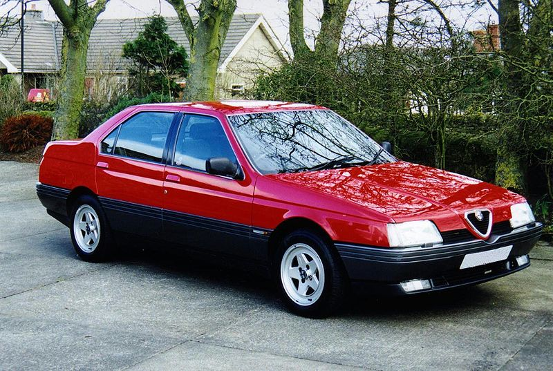 Alfa-Romeo 164 photo 04