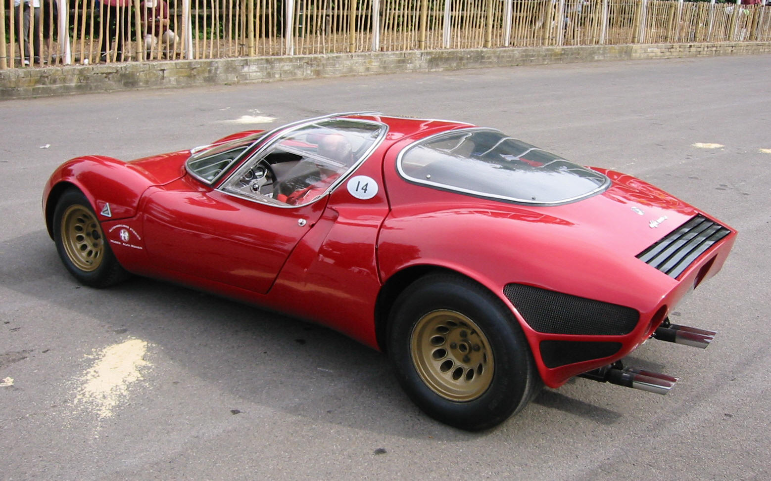 Alfa-Romeo 33 photo 08