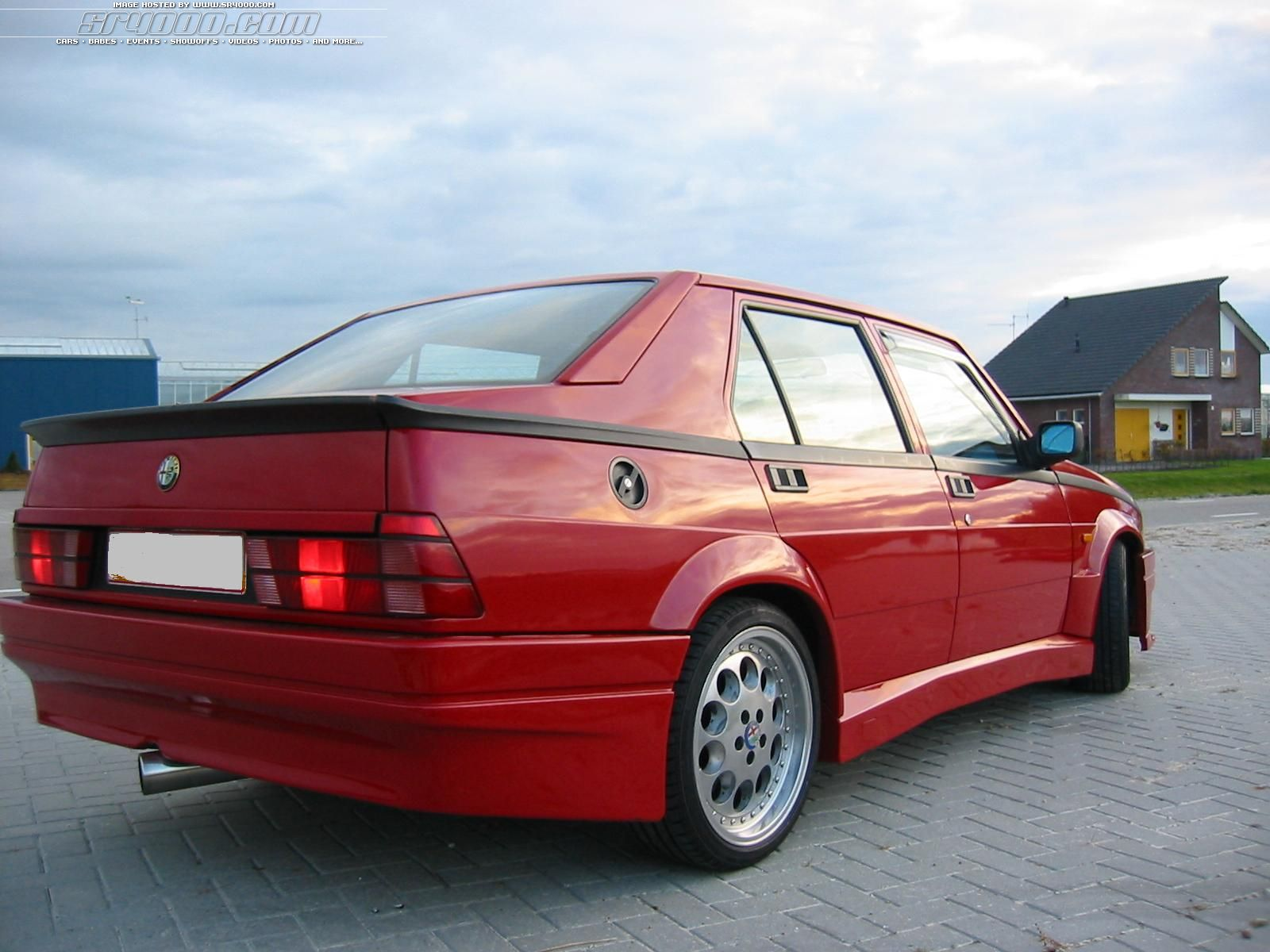 Alfa-Romeo 75 Technical Details, History, Photos On Better