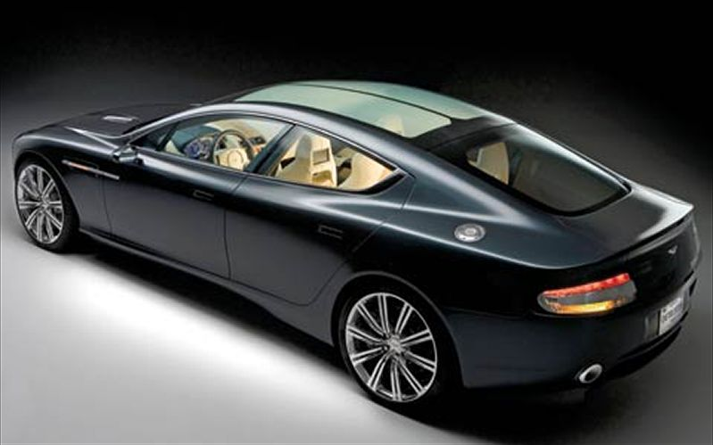 Aston-Martin Rapide photo 09