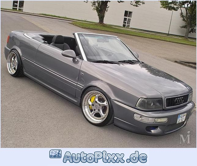 Audi 80 Cabrio Technical Details History Photos On