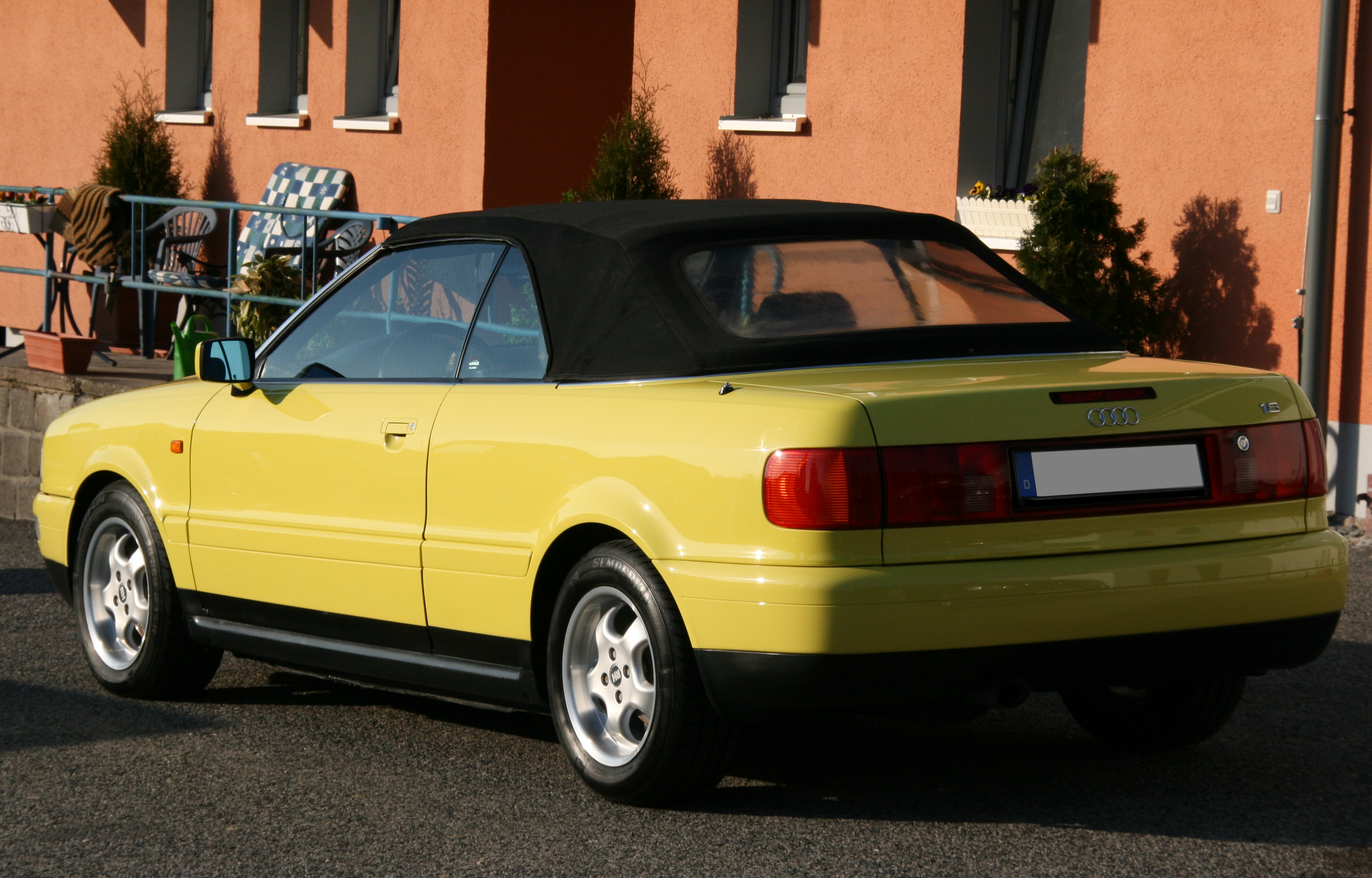 audi 80 cabrio photos 14 on better parts ltd. Black Bedroom Furniture Sets. Home Design Ideas