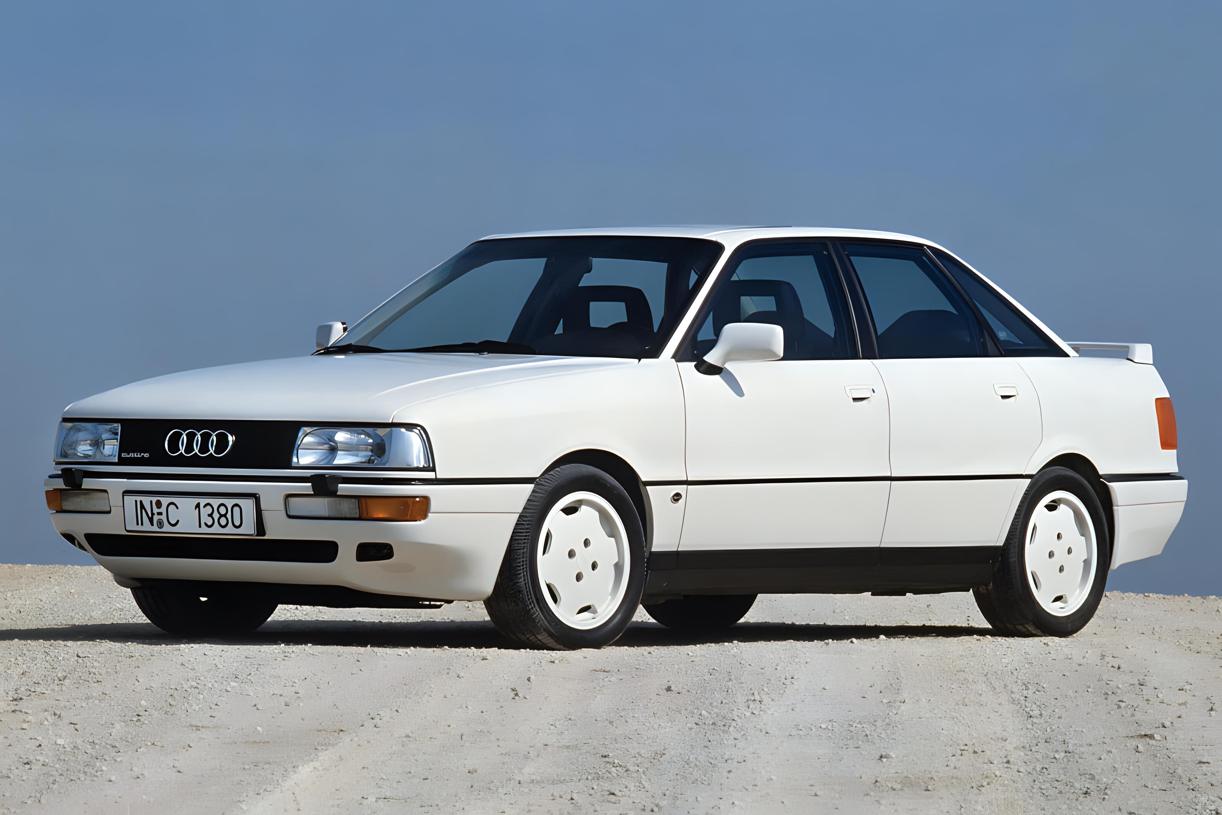 Audi 90 history, photos on Better Parts LTD
