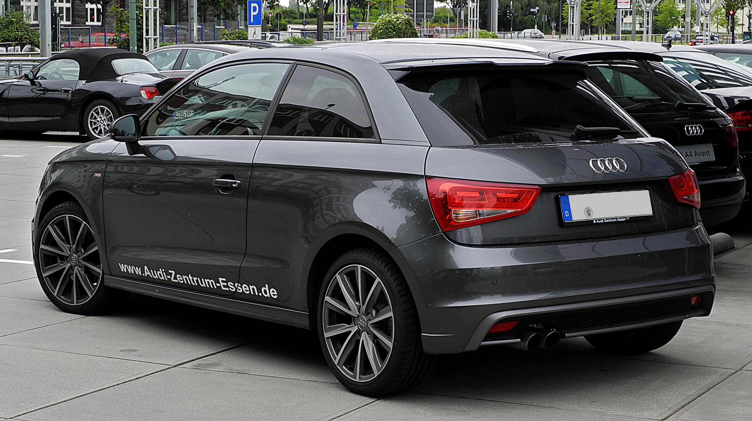 Audi A1 1.4 TFSI S-line technical details, history, photos on Better