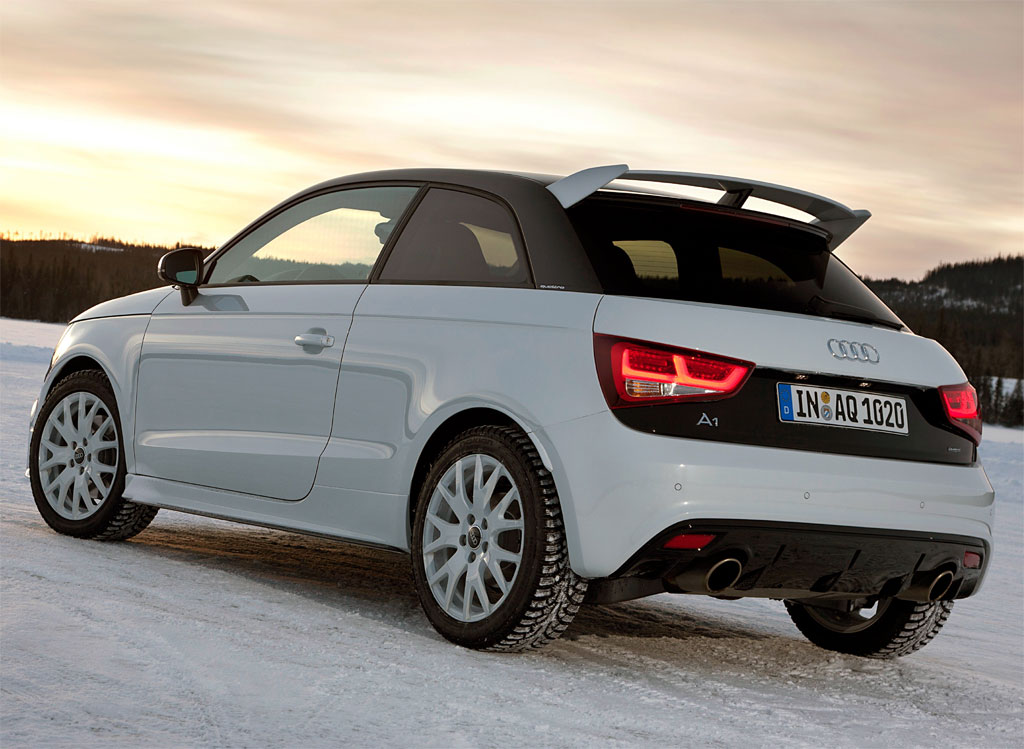 audi a1 quattro technical details history photos on. Black Bedroom Furniture Sets. Home Design Ideas