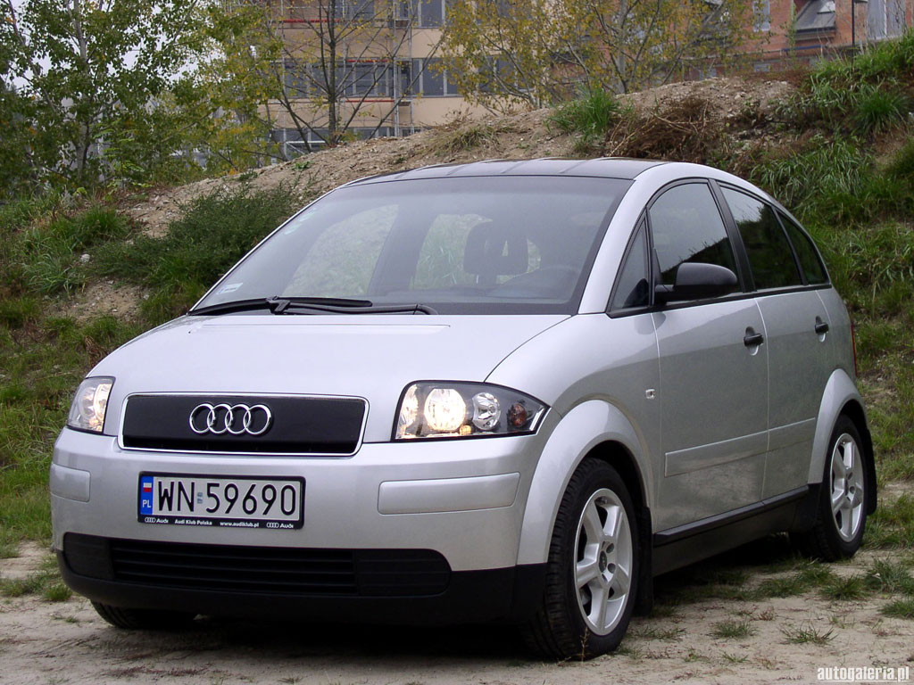 audi a2 technical details history photos on better parts ltd. Black Bedroom Furniture Sets. Home Design Ideas