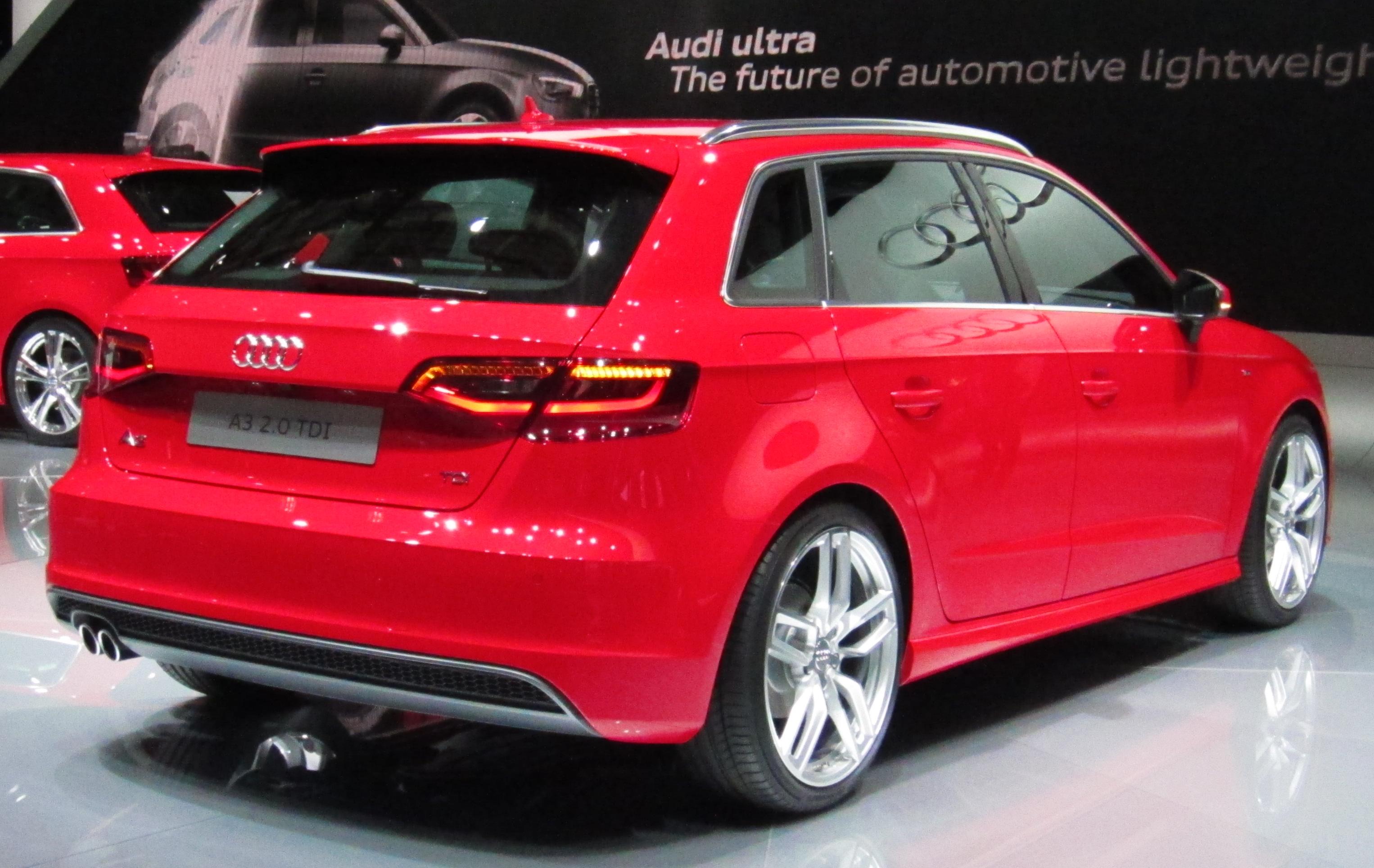 Audi a3 sportback photo 09
