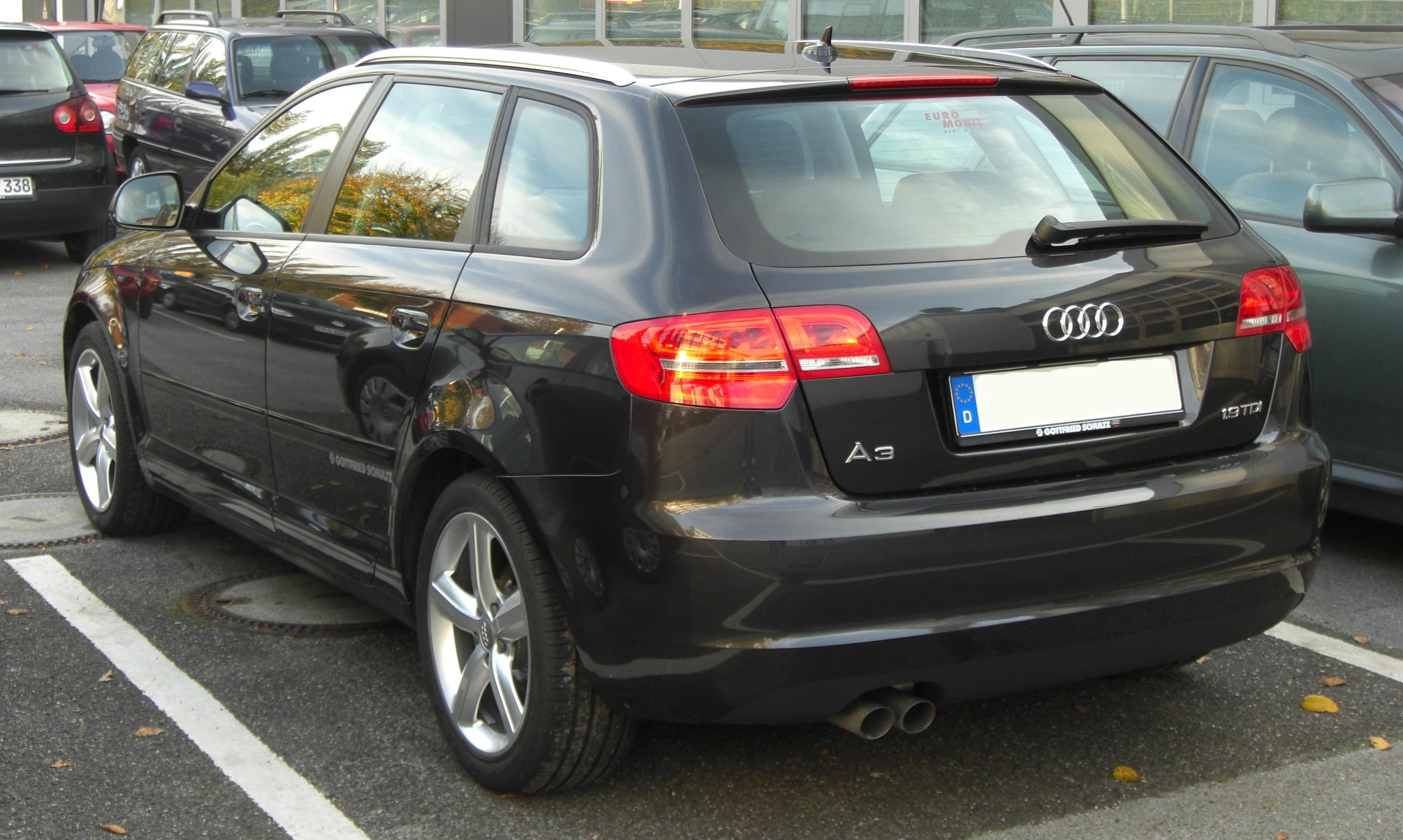 Audi A3 Sportback 19 TDI technical details history photos on