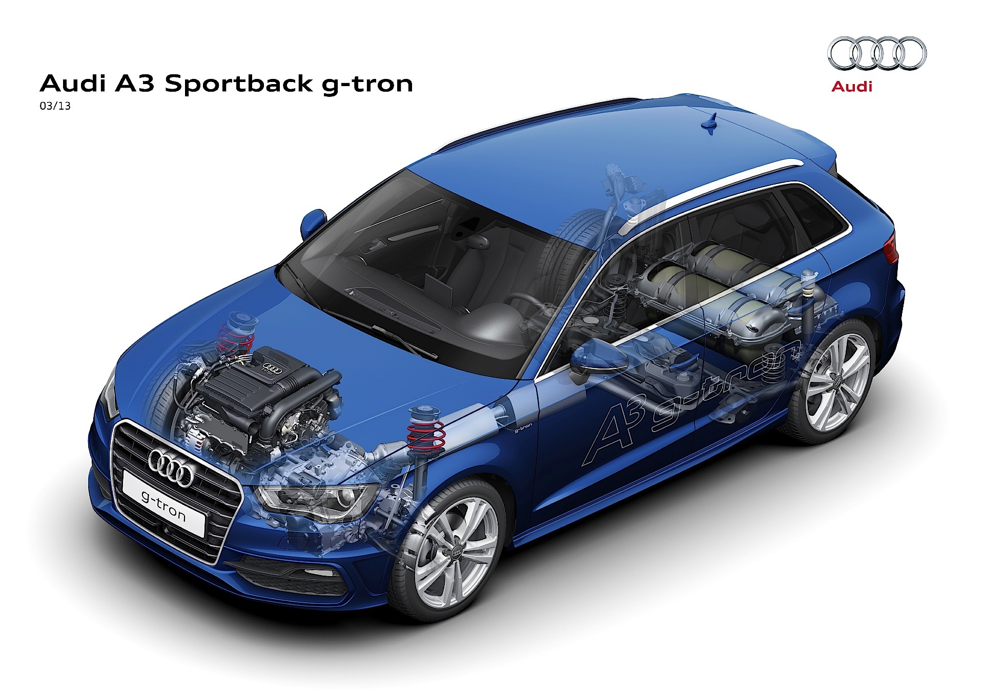 audi a3 sportback g tron technical details history. Black Bedroom Furniture Sets. Home Design Ideas