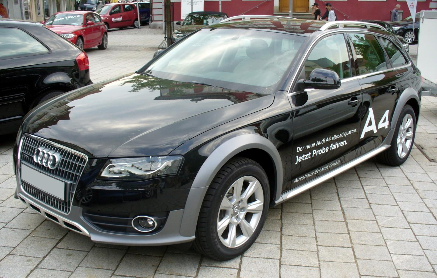 Audi A4 allroad quattro photo 01
