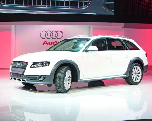 Audi A4 allroad quattro photo 02
