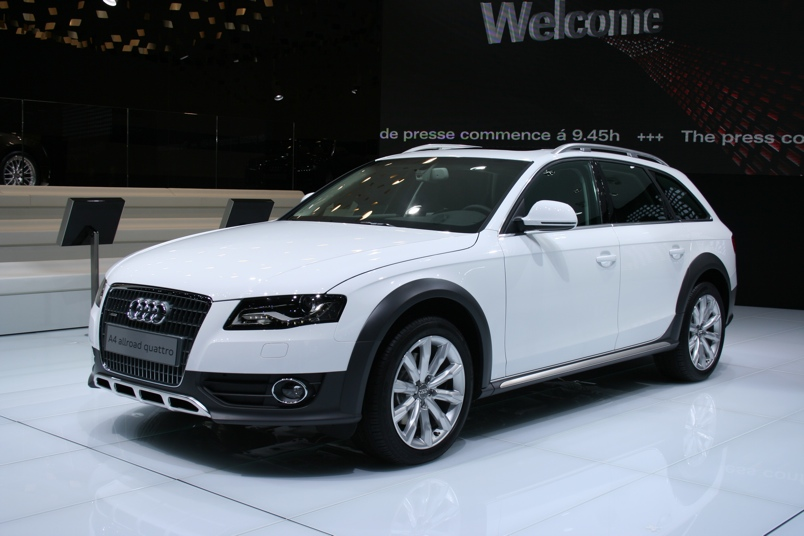 Audi A4 allroad quattro photo 03