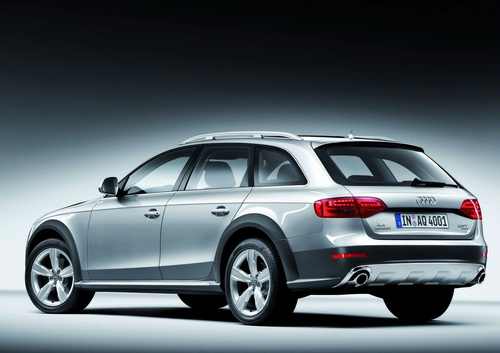 Audi A4 allroad quattro photo 05