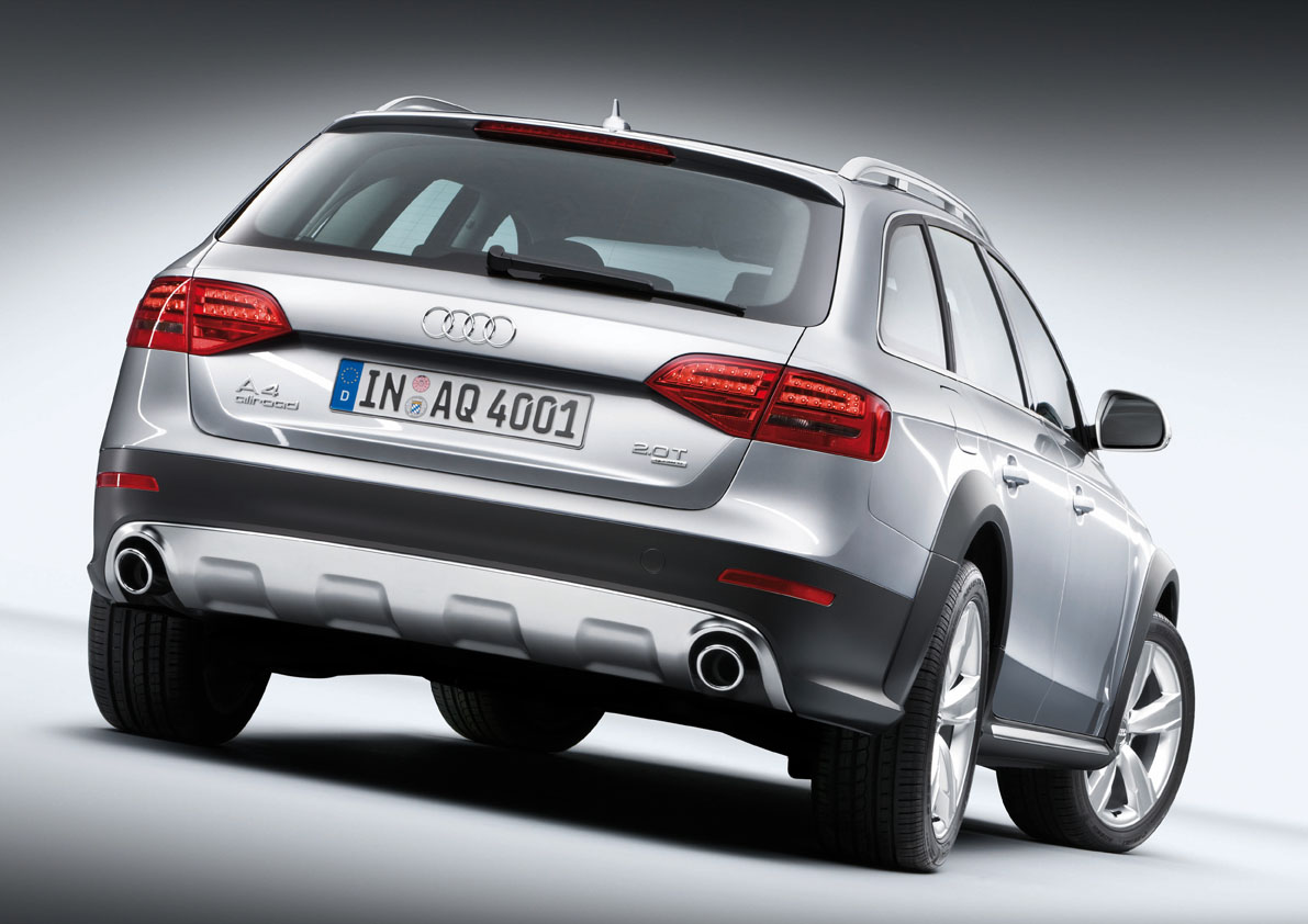 Audi A4 allroad quattro photo 06