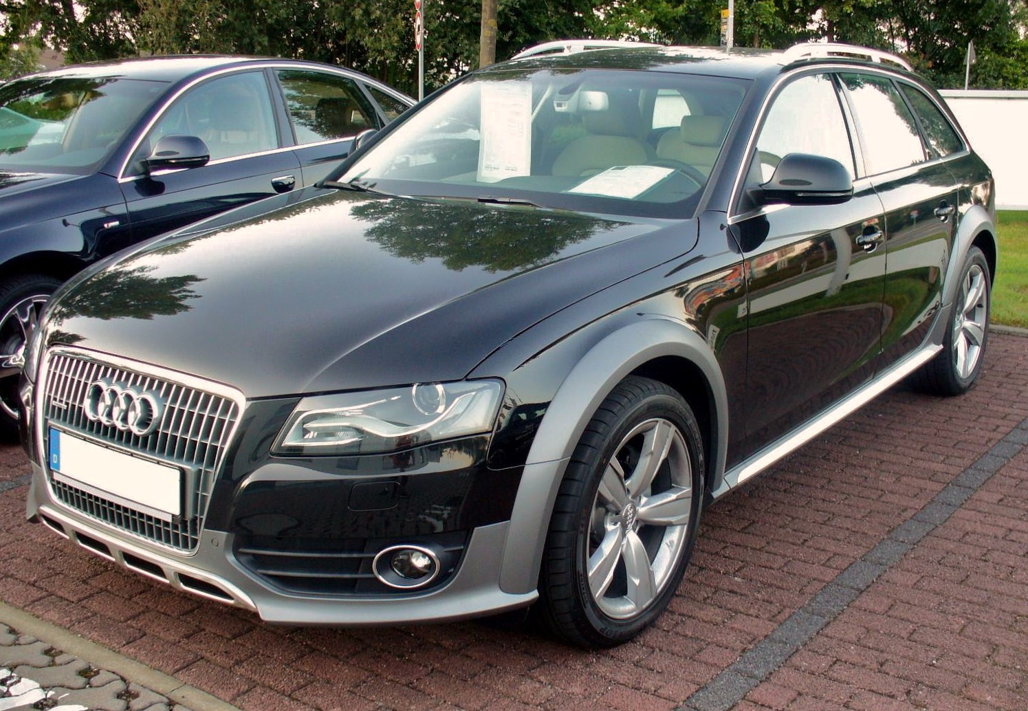Audi A4 allroad quattro photo 07