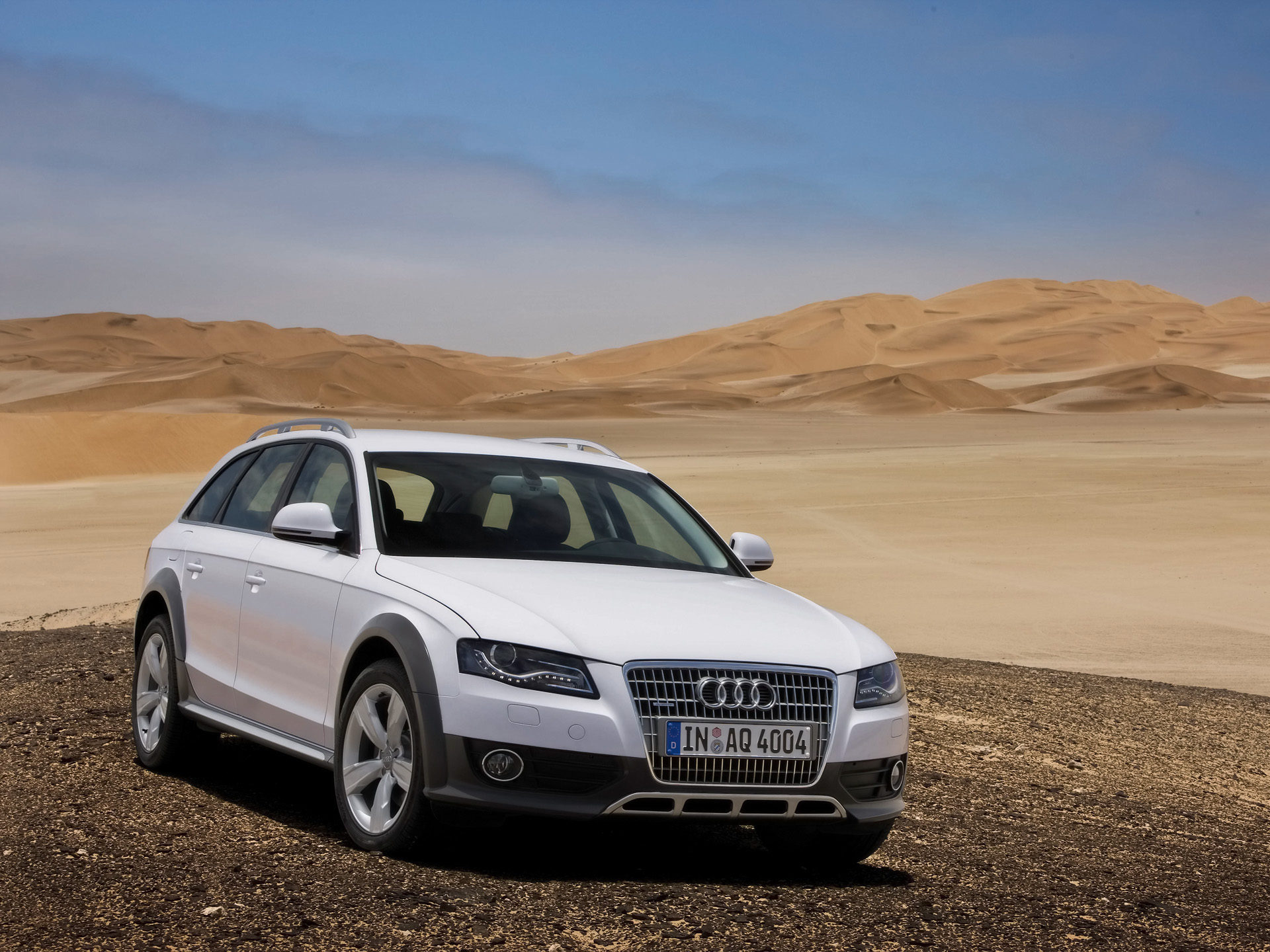 Audi A4 allroad quattro photo 09