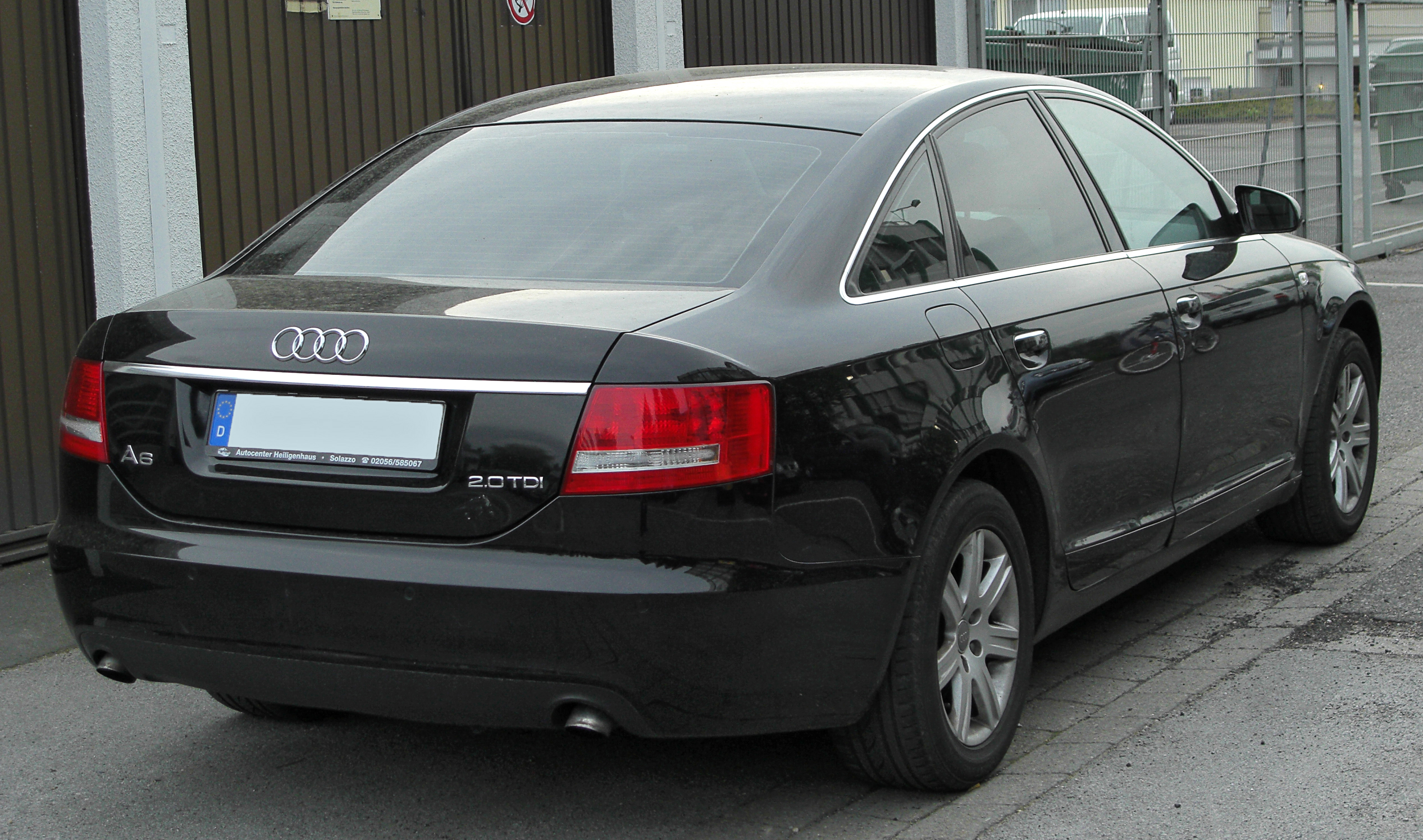 audi a6 2 0 tdi technical details history photos on. Black Bedroom Furniture Sets. Home Design Ideas
