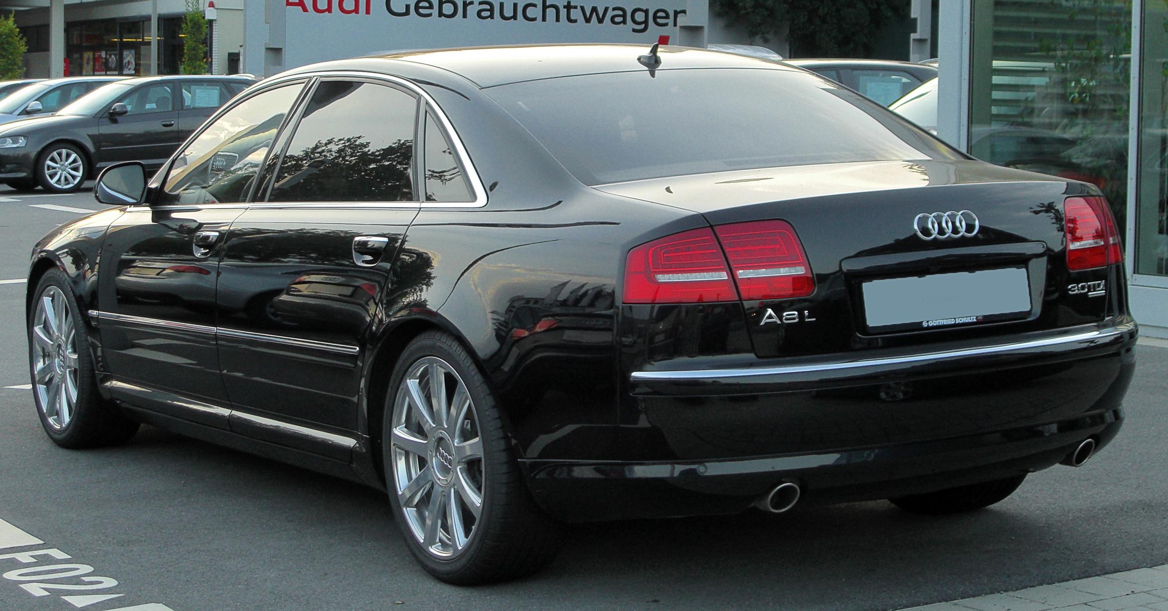 Audi A8 3.0 TDI quattro technical details, history, photos on Better Parts LTD