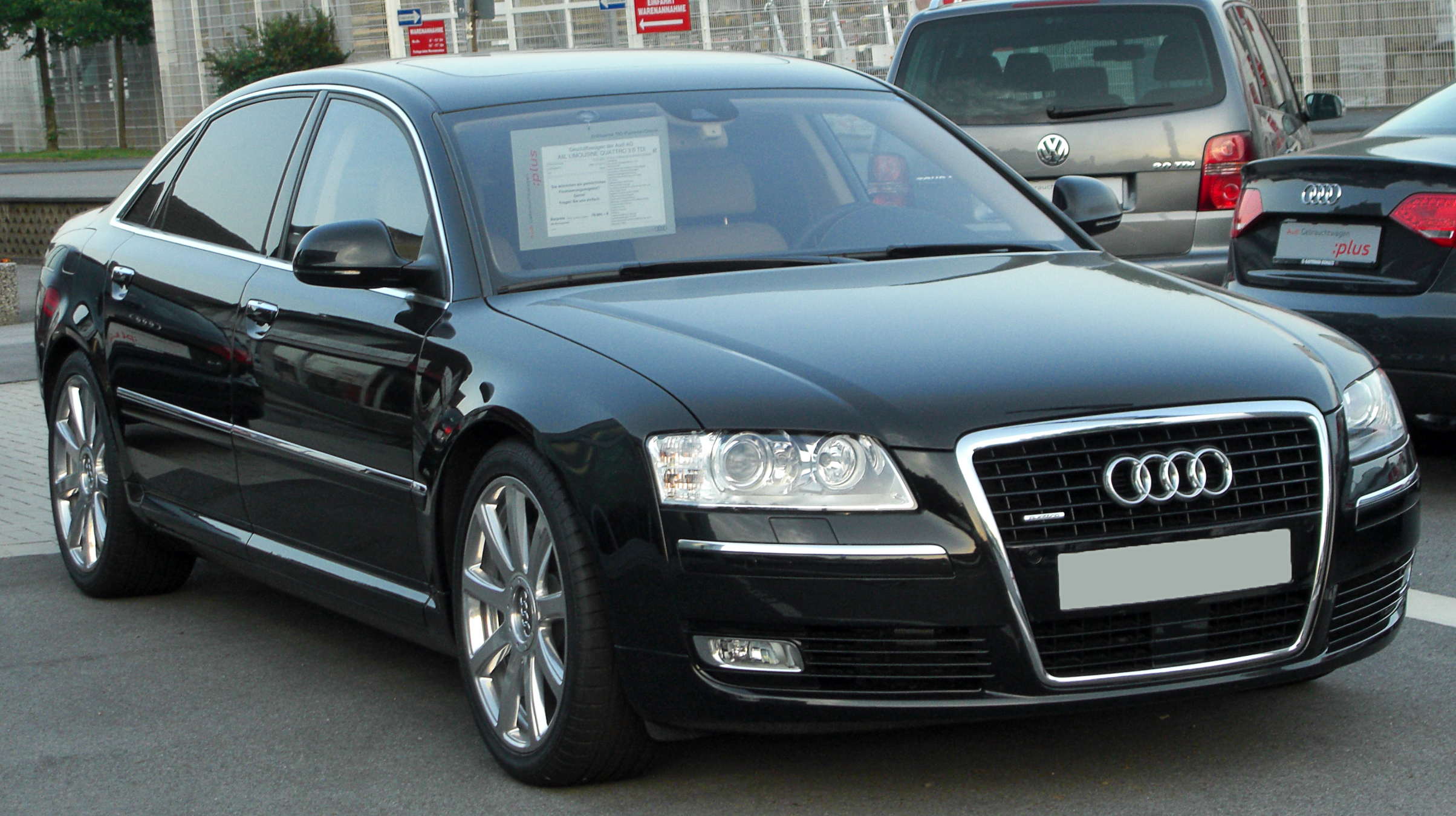 Audi A8 3 0 Tdi Quattro Technical Details History Photos