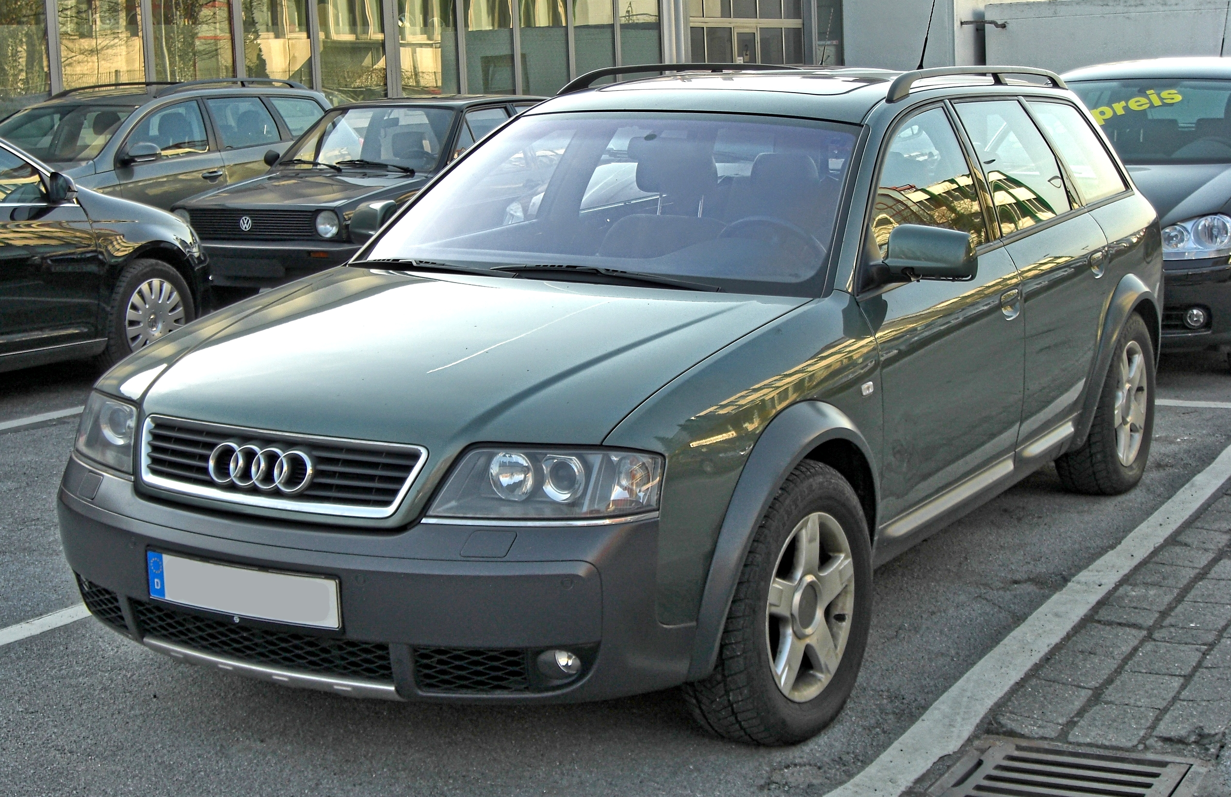 Audi allroad quattro photo 07
