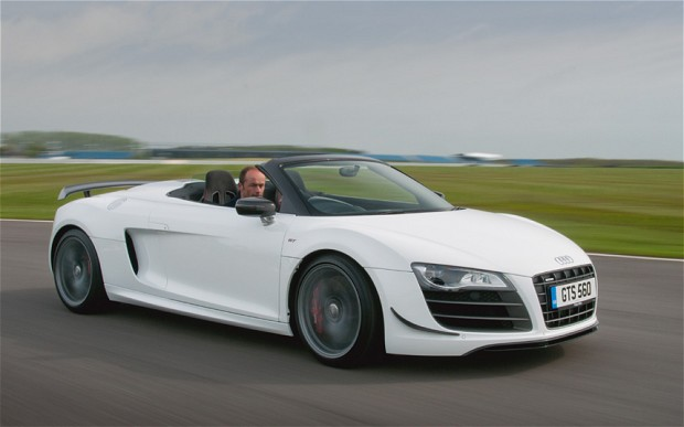 Audi R8 GT Spyder technical details history photos on Better