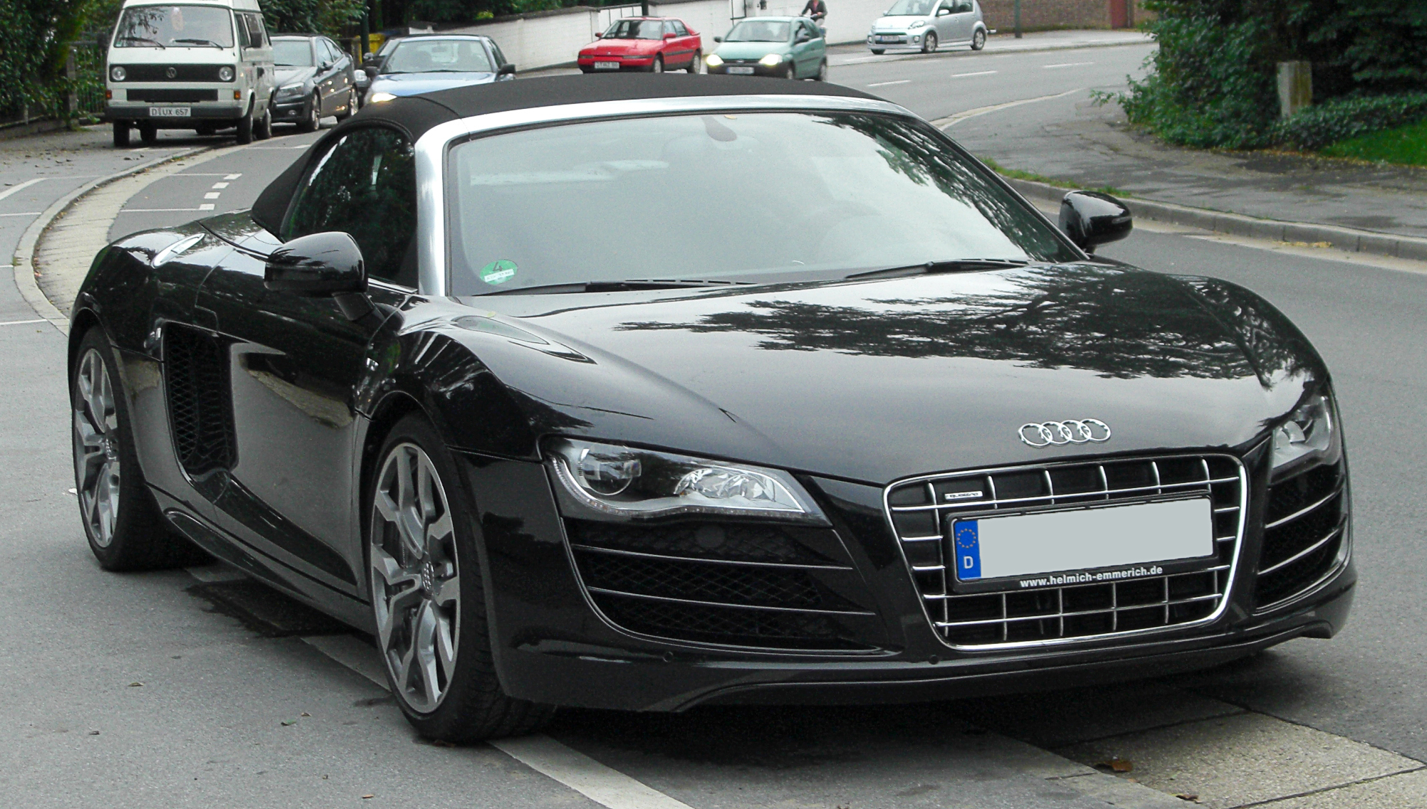 audi r8 spyder photos 6 on better parts ltd. Black Bedroom Furniture Sets. Home Design Ideas