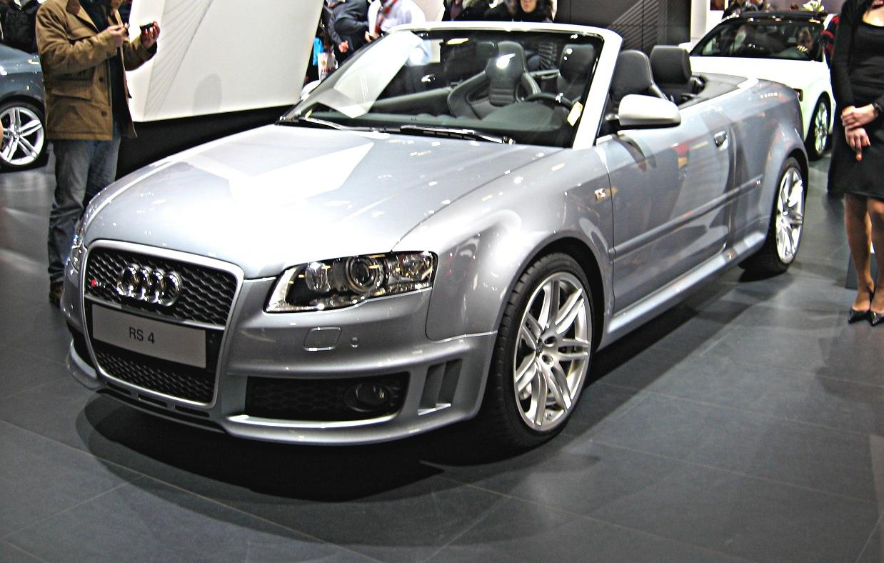 Audi RS4 Cabriolet photo 04