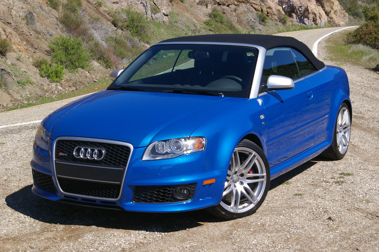 Audi RS4 Cabriolet photo 08