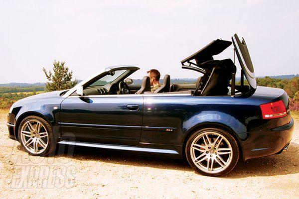 Audi RS4 Cabriolet photo 11
