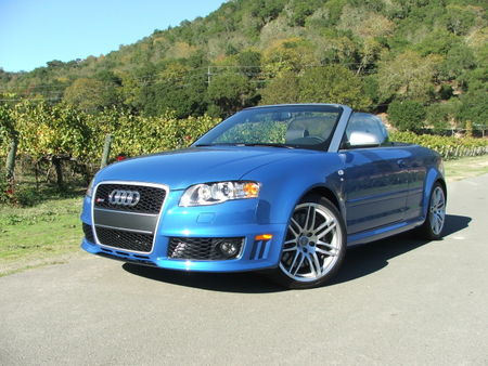 Audi RS4 Cabriolet photo 18