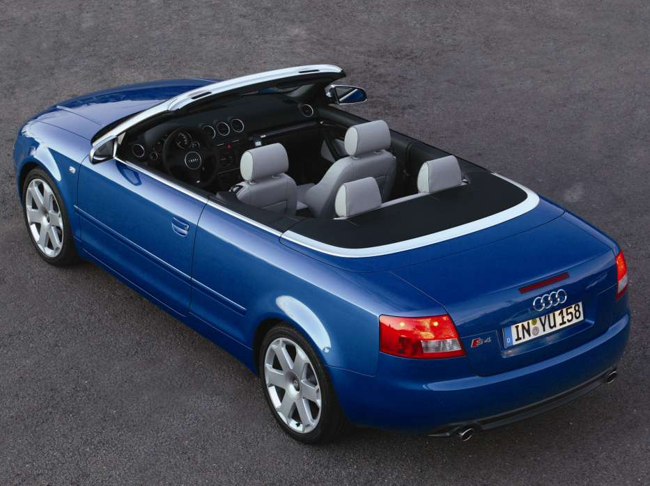 audi s4 cabriolet technical details history photos on. Black Bedroom Furniture Sets. Home Design Ideas