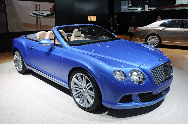 Bentley Continental Speed Cabrio photo 02