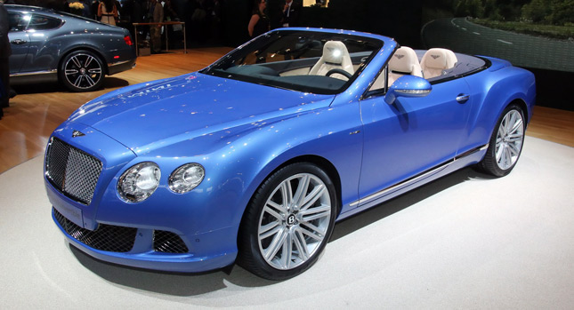 Bentley Continental Speed Cabrio photo 03