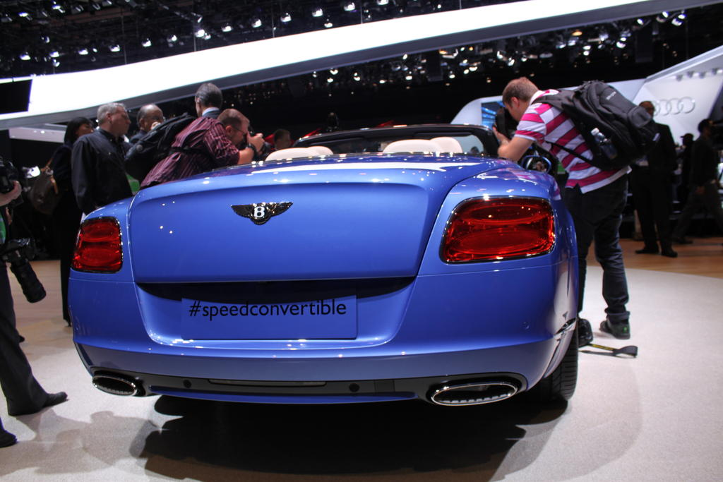 Bentley Continental Speed Cabrio photo 04