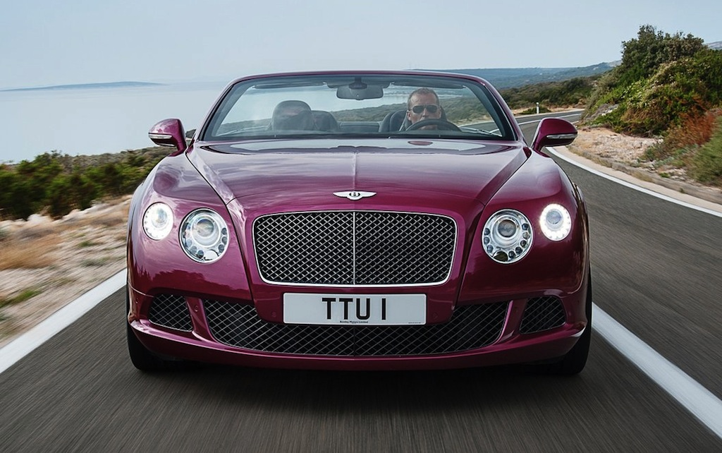Bentley Continental Speed Cabrio photo 07