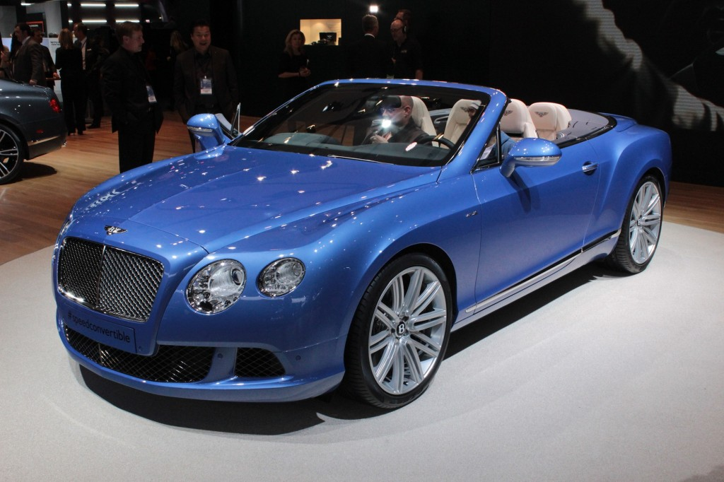 Bentley Continental Speed Cabrio photo 08
