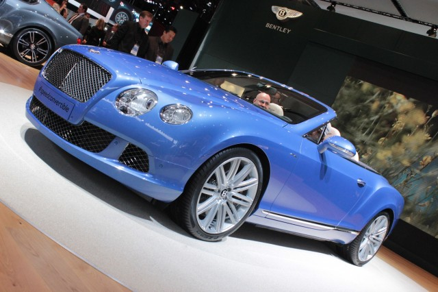 Bentley Continental Speed Cabrio photo 09