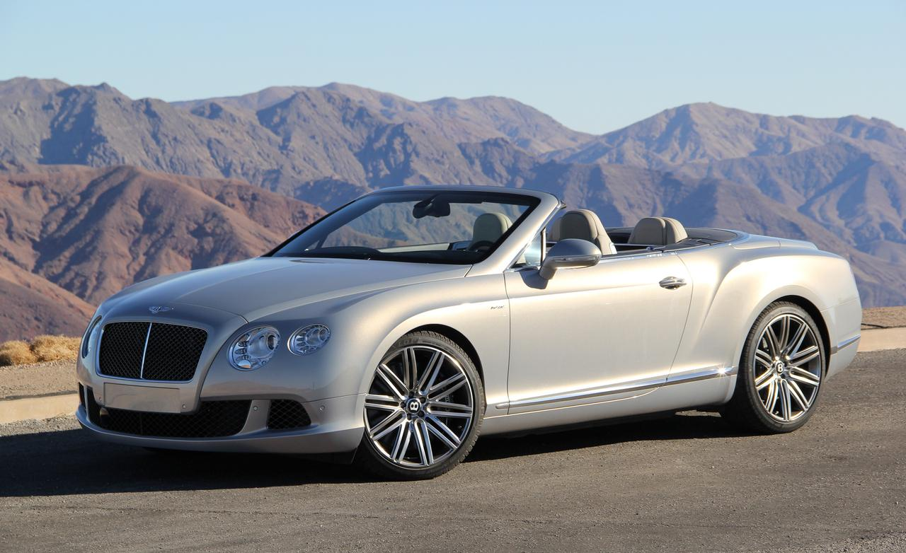 Bentley Continental Speed Cabrio photo 12