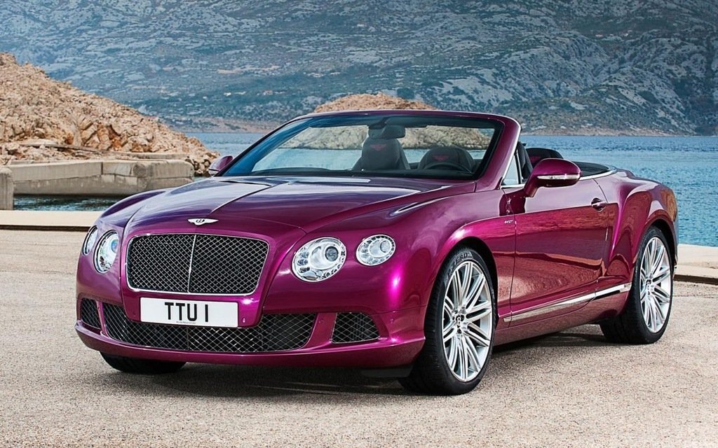 Bentley Continental Speed Cabrio photo 13