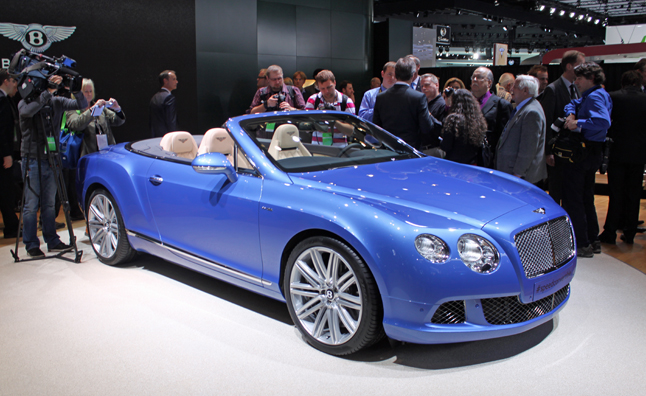Bentley Continental Speed Cabrio photo 14
