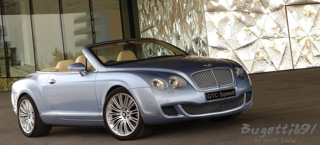 Bentley Continental Speed Cabrio photo 15