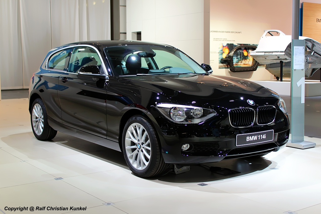 bmw 114i technical details history photos on better. Black Bedroom Furniture Sets. Home Design Ideas
