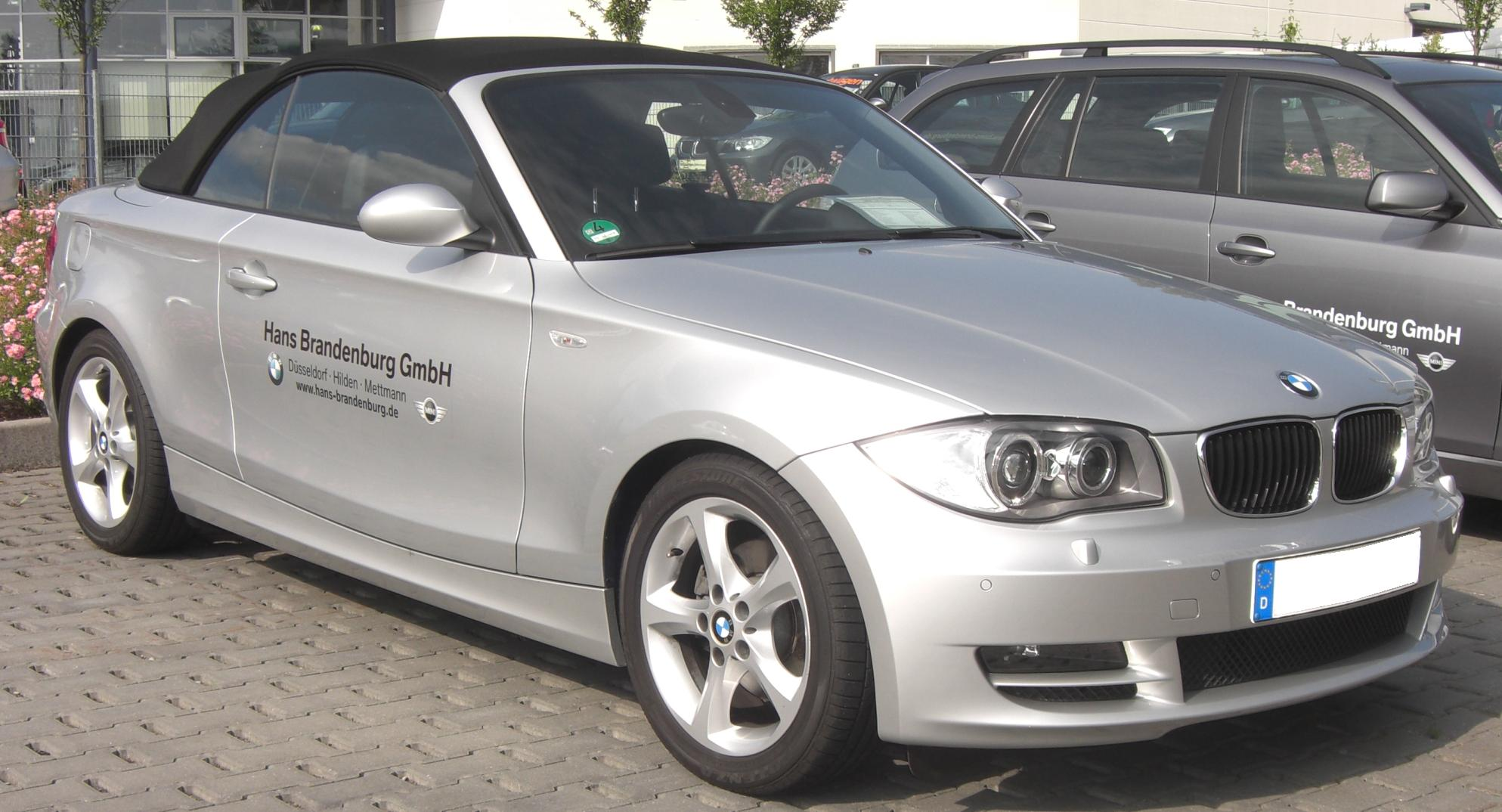 bmw 1er cabrio photos 5 on better parts ltd. Black Bedroom Furniture Sets. Home Design Ideas