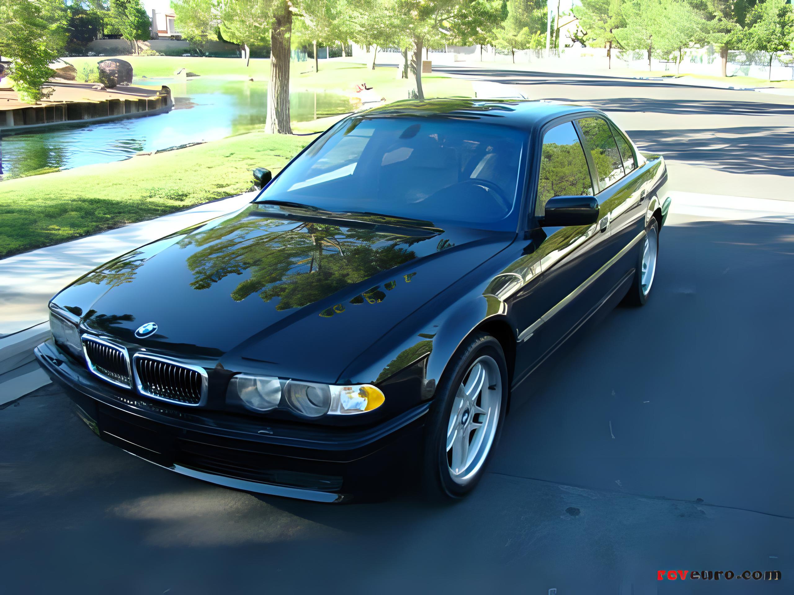 BMW Technical Details History Photos On Better Parts LTD - 740 i bmw