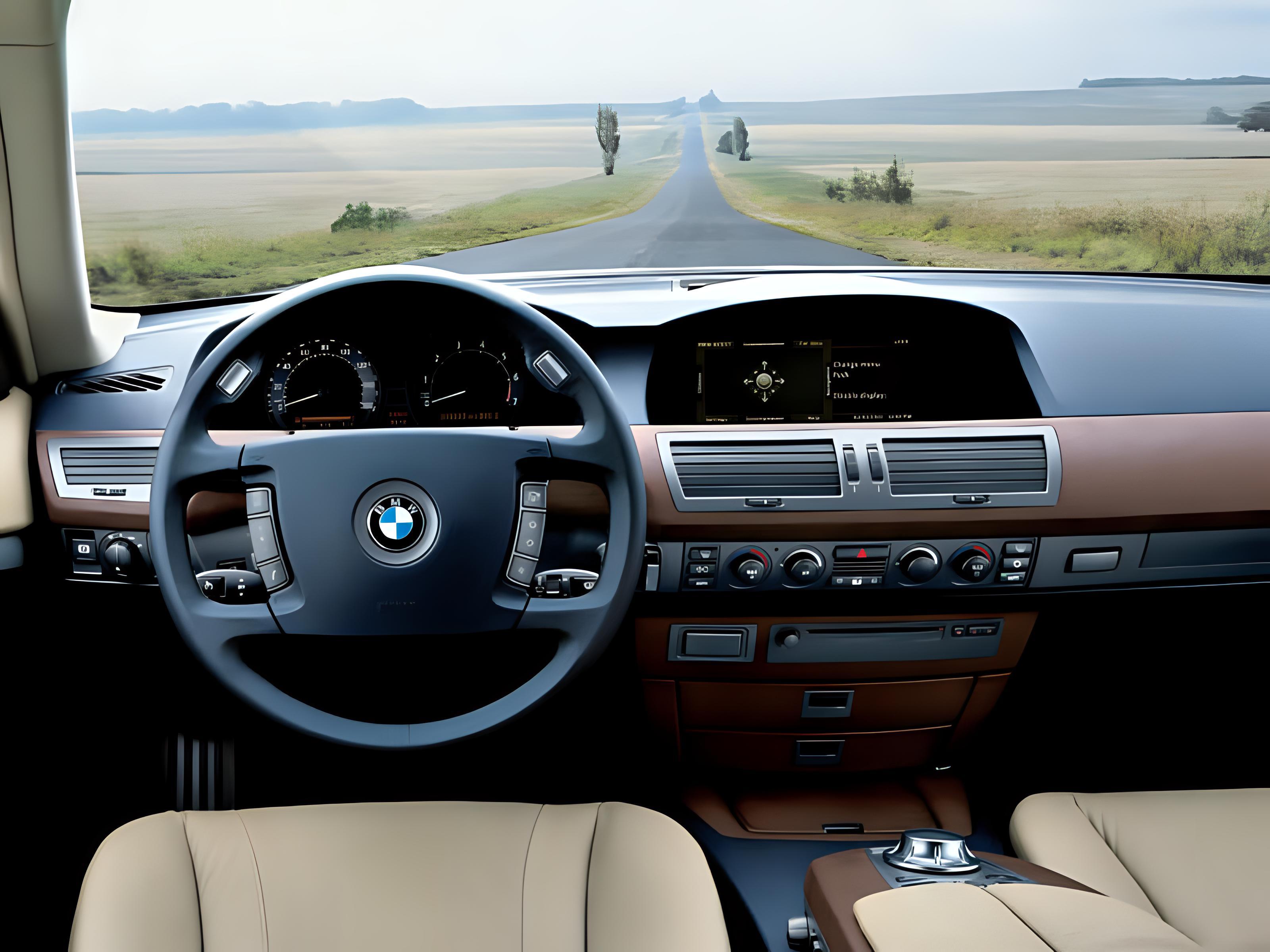 BMW 745 Photo 11