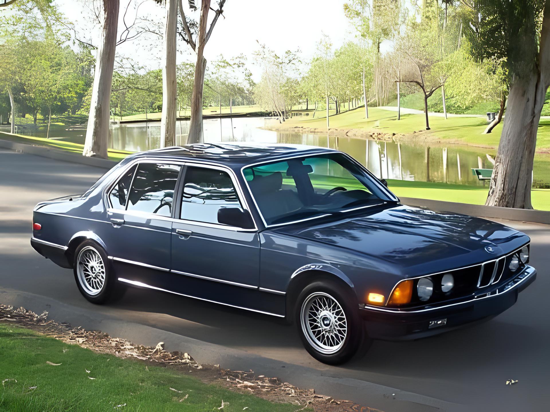 BMW 745i Turbo Photo 01