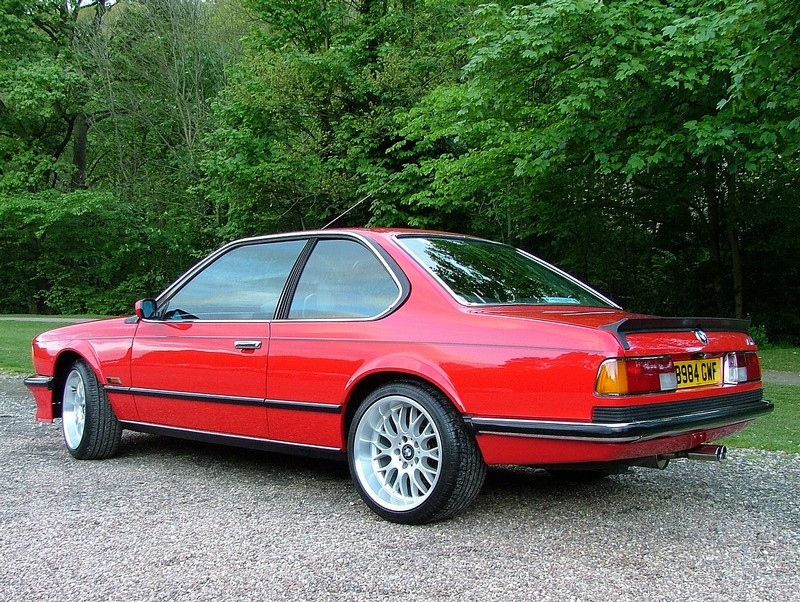 BMW M 635CSi photo 07