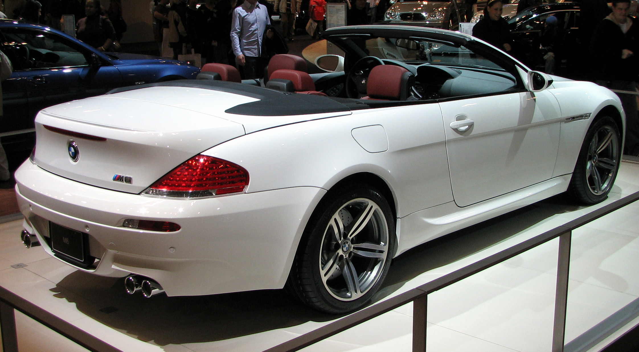 bmw m6 cabrio photos 2 on better parts ltd. Black Bedroom Furniture Sets. Home Design Ideas