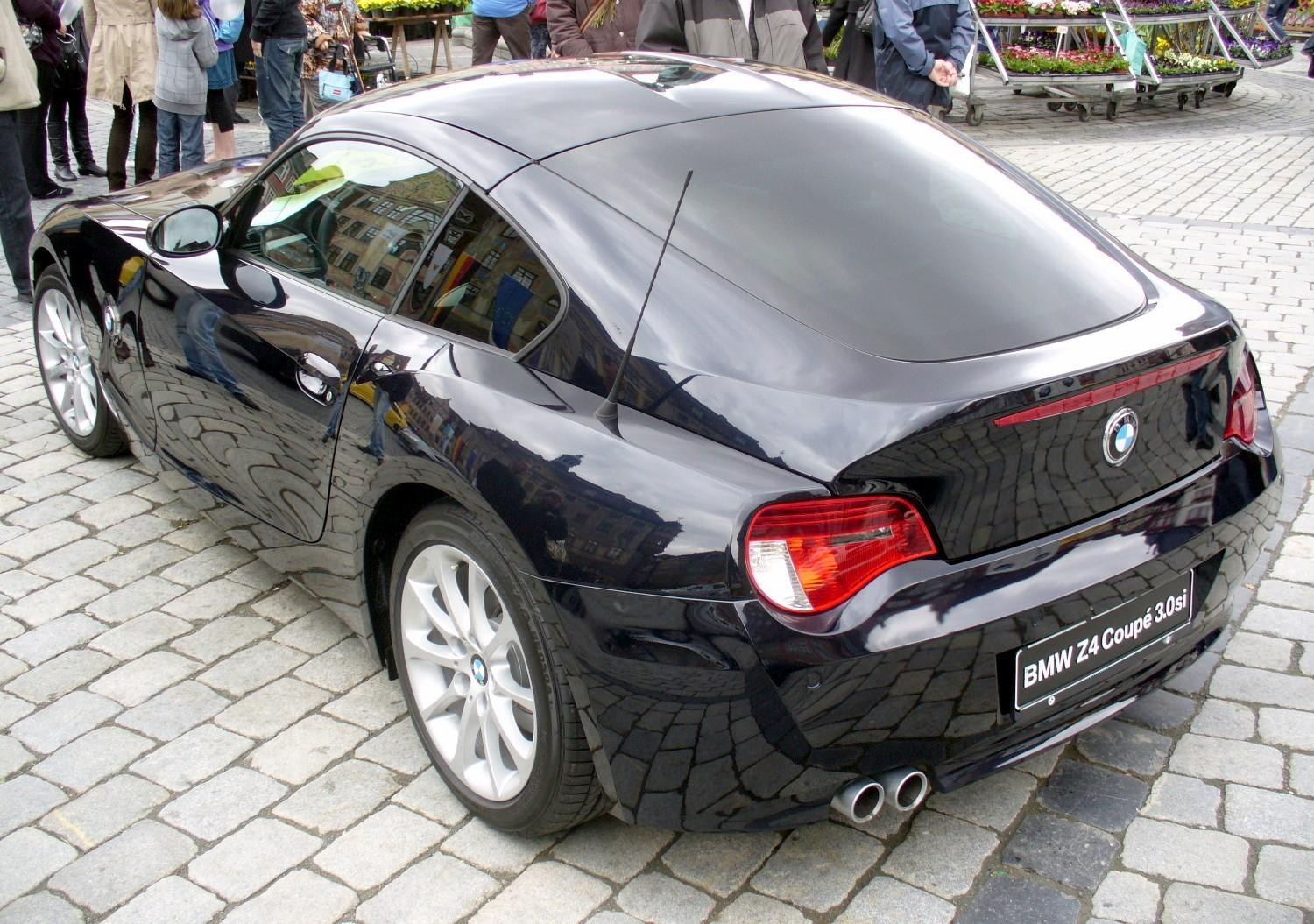 Bmw Z4 3 0si Coup 233 Technical Details History Photos On