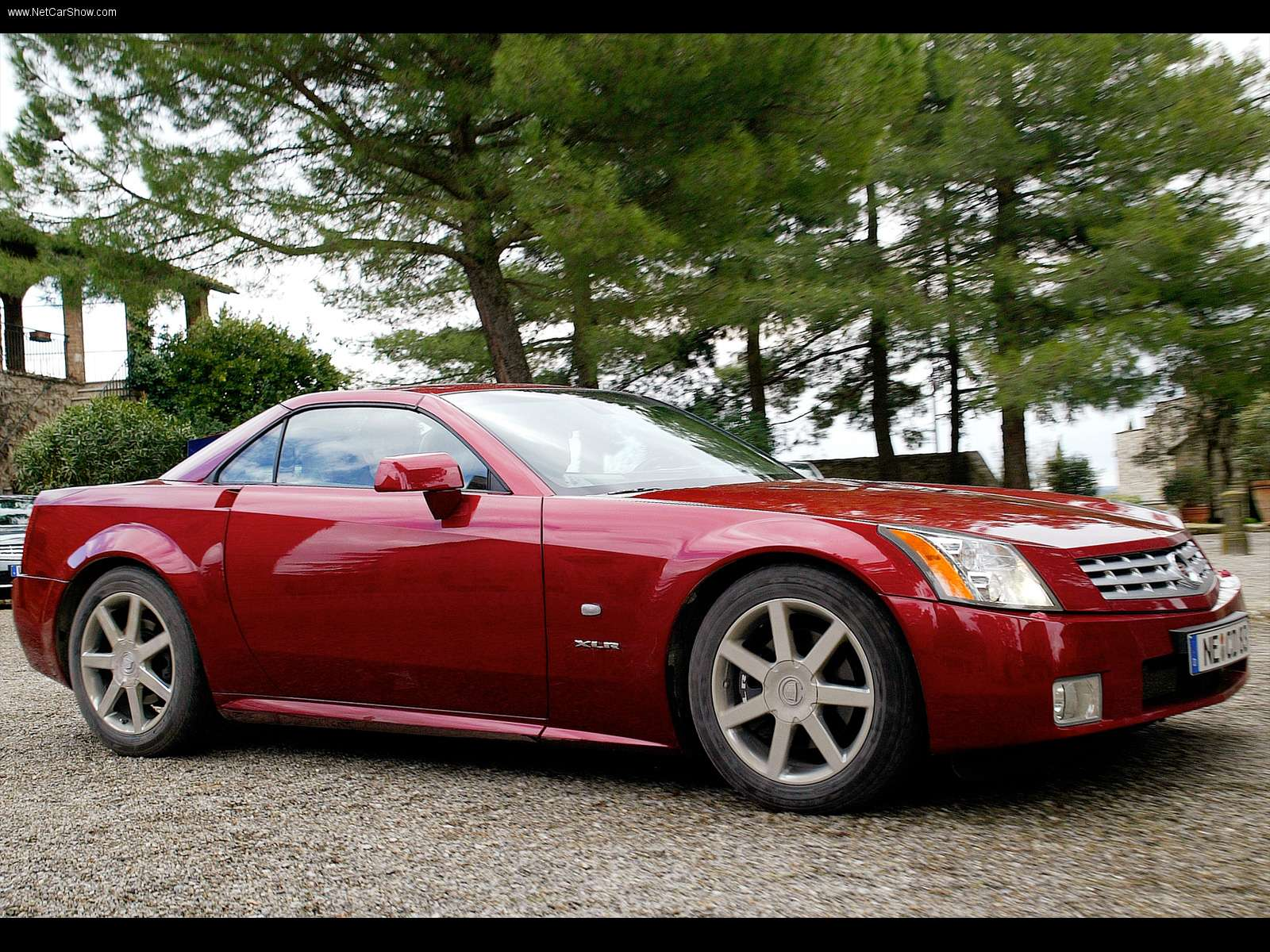 outstanding roadster cars cadillac xlr exterior